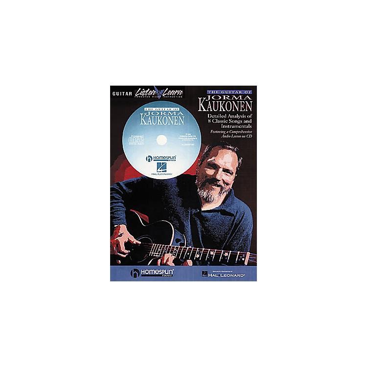 HomespunThe Guitar of Jorma Kaukonen (Book/CD)