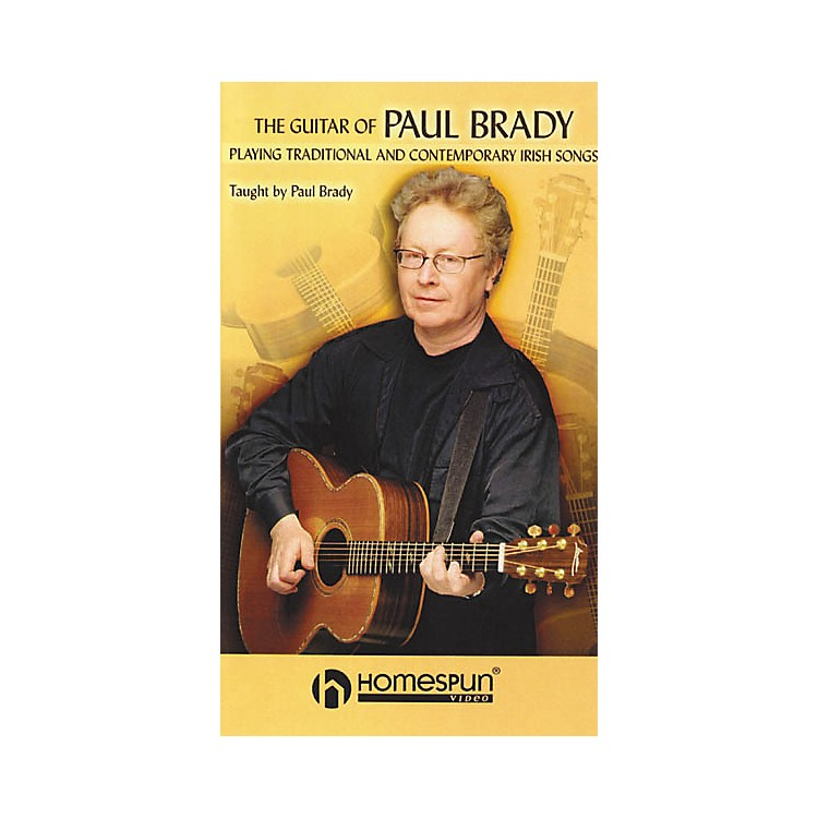 Homespun The Guitar of Paul Brady - Playing Traditional and Contemporary Irish Songs (VHS)