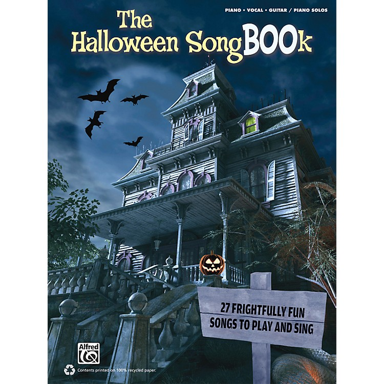 AlfredThe Halloween SongBOOk PVC