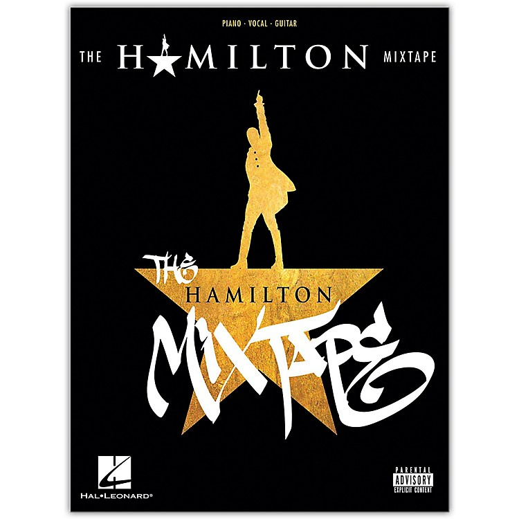 Hal Leonard The Hamilton Mixtape Piano/Vocal/Guitar Songbook