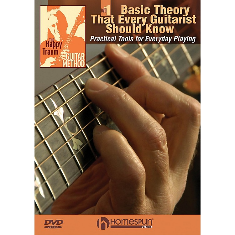 Homespun The Happy Traum Guitar Method - Basic Theory That Every Guitarist Should Know Homespun DVD by Happy Traum