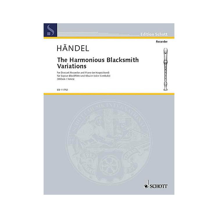 SchottThe Harmonious Blacksmith Variations Schott Series