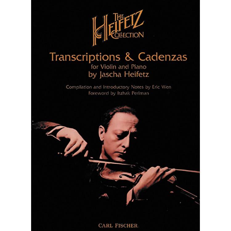Carl FischerThe Heifetz Collection: Transcriptions & Cadenzas
