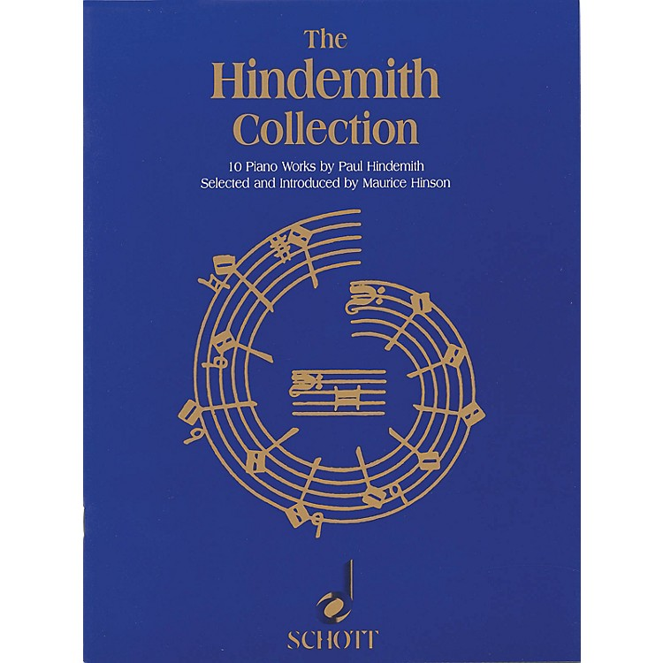 SchottThe Hindemith Collection (10 Piano Works by Paul Hindemith) Schott Series Softcover