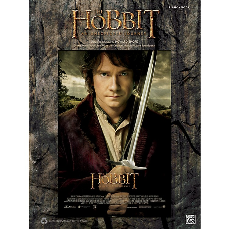 AlfredThe Hobbit: An Unexpected Journey PV Book