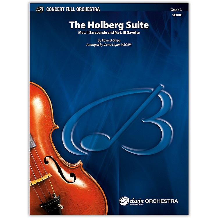 BELWINThe Holberg Suite Conductor Score 3