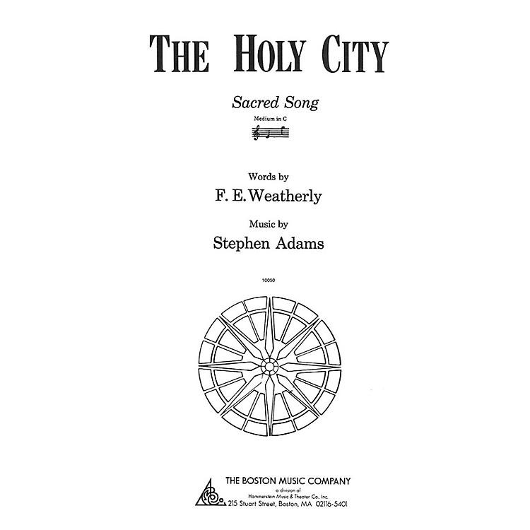 Music SalesThe Holy City Medium C Music Sales America Series