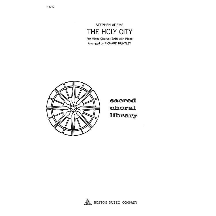 Boston MusicThe Holy City SAB Composed by Stephen Adams
