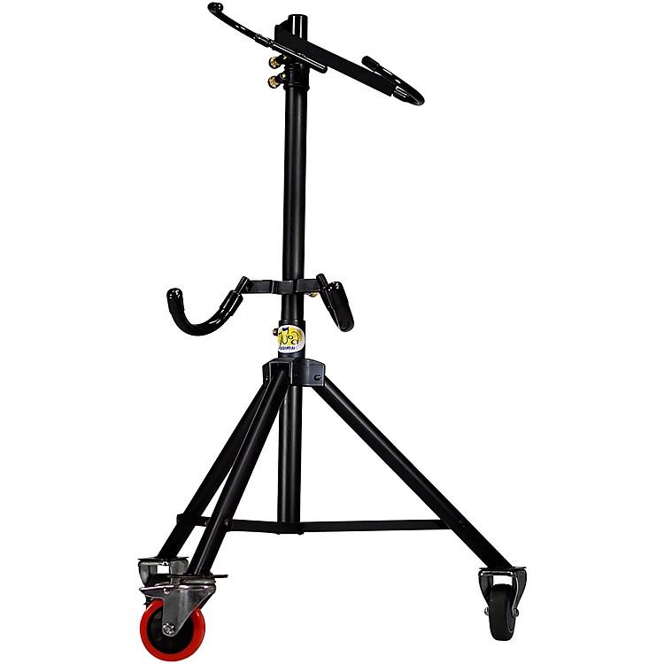 Tuba EssentialsThe Hug Adjustable Tuba Stand for 3/4 Size Left Side Mouthpiece Instruments