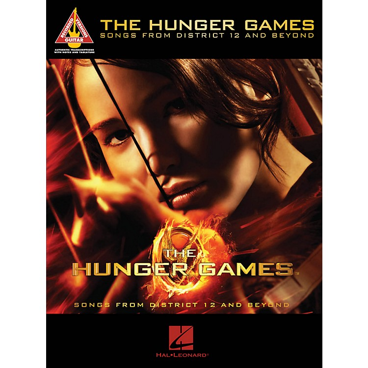 Hal Leonard The Hunger Games - Songs From District 12 And Beyond Guitar Tab Songbook
