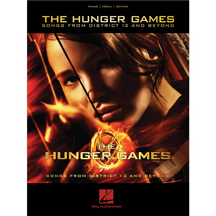 Hal LeonardThe Hunger Games Songs From District 12 And Beyond for Piano/Vocal/Guitar