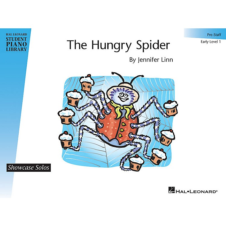 Hal LeonardThe Hungry Spider Piano Library Series by Jennifer Linn (Level Early Elem (Pre-Staff))