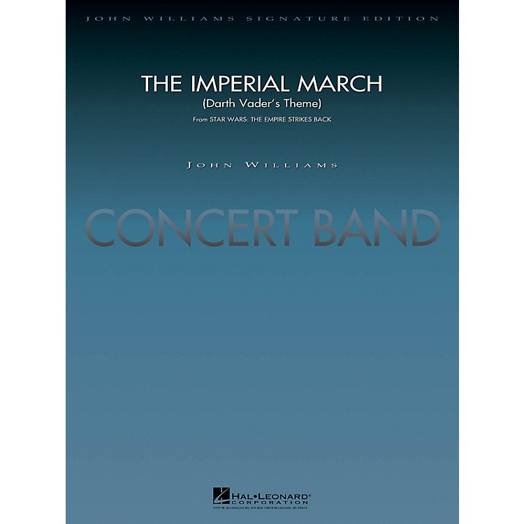 Hal LeonardThe Imperial March (Darth Vader's Theme) Concert Band Level 5 Arranged by Stephen Bulla