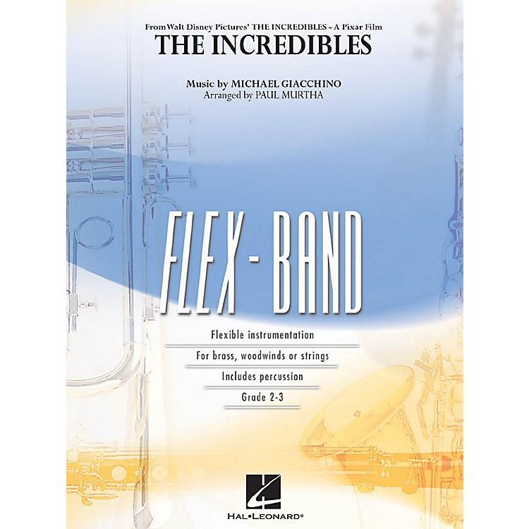 Hal LeonardThe Incredibles Concert Band Level 2-3 Arranged by Paul Murtha