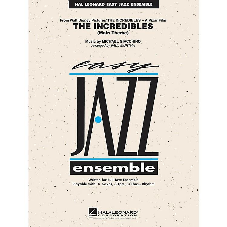 Hal LeonardThe Incredibles Jazz Band Level 2 Arranged by Paul Murtha