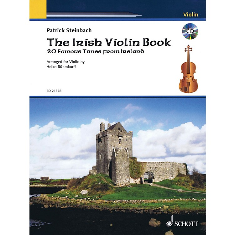 SchottThe Irish Violin Book String Series Softcover with CD