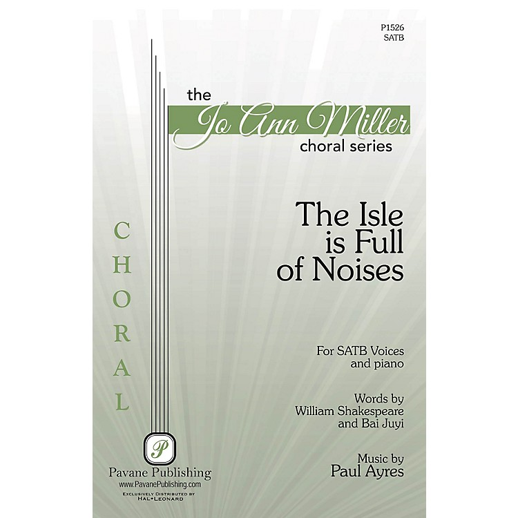PavaneThe Isle Is Full of Noises SATB composed by Paul Ayres