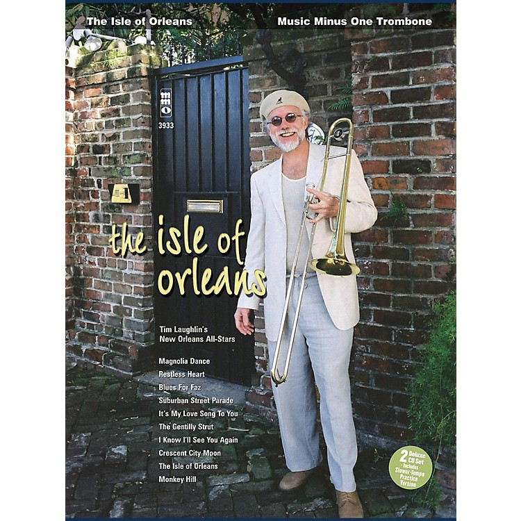 Music Minus OneThe Isle of Orleans (Music Minus One Trombone Deluxe 2-CD Set) Music Minus One Series Softcover with CD