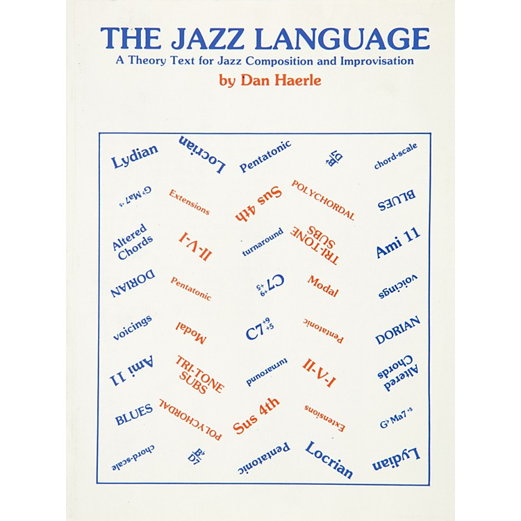 AlfredThe Jazz Language A Theory Text for Jazz Composition and Improvisation Book
