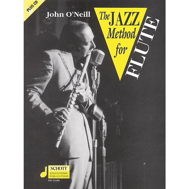 SchottThe Jazz Method for Flute Schott Series Softcover with CD