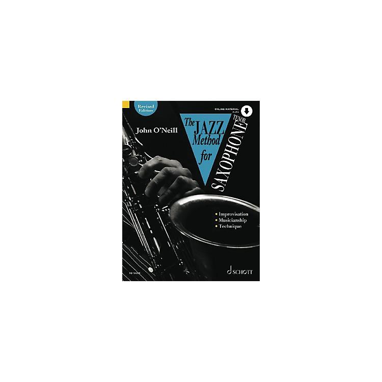 SchottThe Jazz Method for Tenor Saxophone Schott Series Book with CD