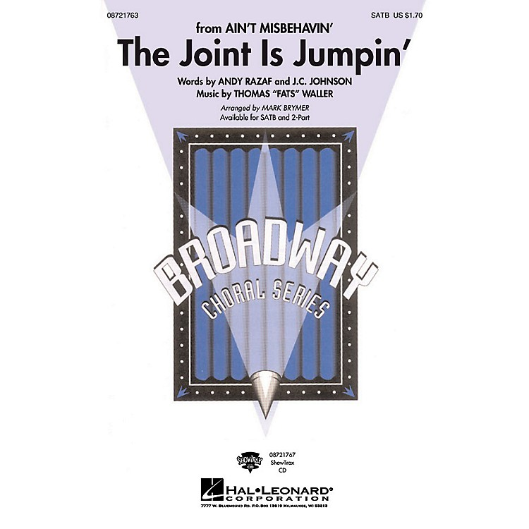 Hal Leonard The Joint Is Jumpin' SATB arranged by Mark Brymer