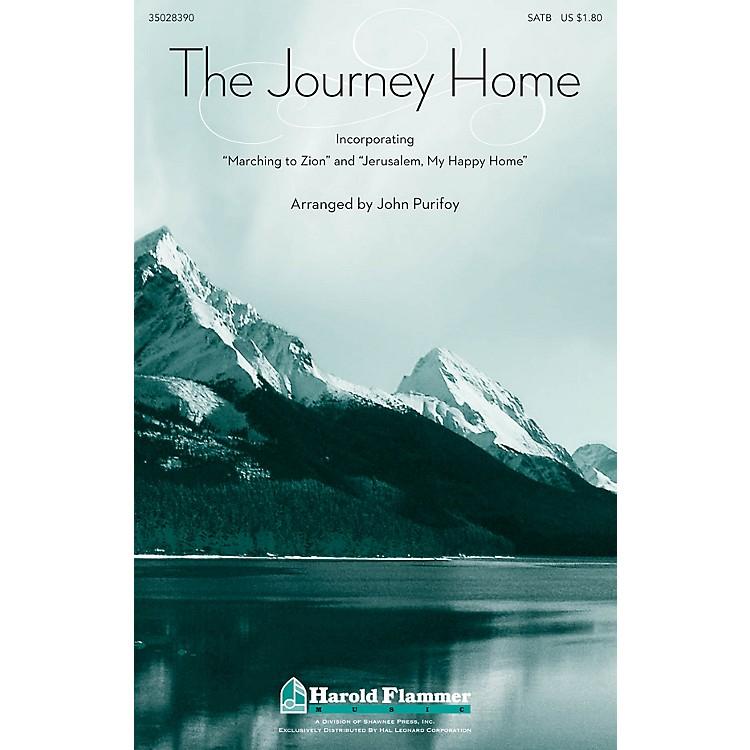 Shawnee PressThe Journey Home SATB arranged by John Purifoy
