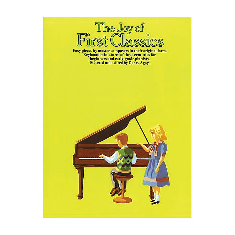 Music SalesThe Joy of First Classics - Book 1 Piano Solo