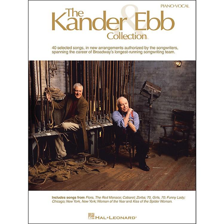 Hal LeonardThe Kander & Ebb Collection arranged for piano, vocal, and guitar (P/V/G)