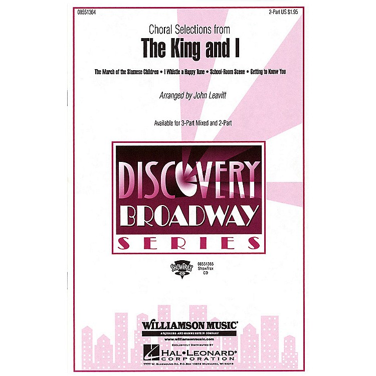 Hal LeonardThe King and I (Choral Selections) 3-Part Mixed Arranged by John Leavitt