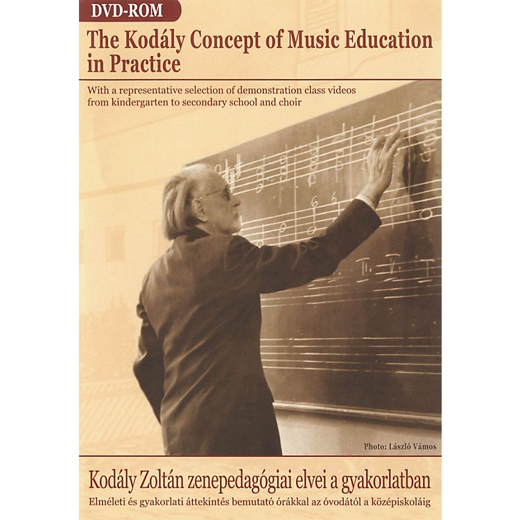 Editio Musica BudapestThe Kodály Concept of Music Education in Practice (DVD-ROM) EMB Series DVD by Zoltán Kodály