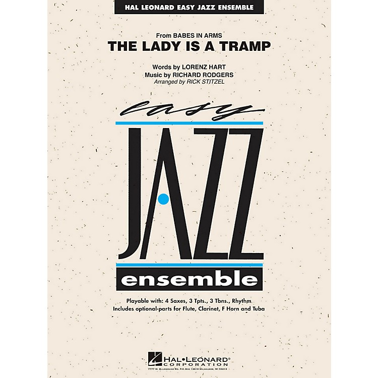 Hal Leonard The Lady Is A Tramp - Easy Jazz Ensemble Series Level 2