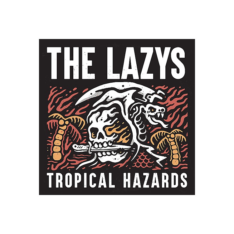 AllianceThe Lazys - Tropical Hazards (Red Vinyl)