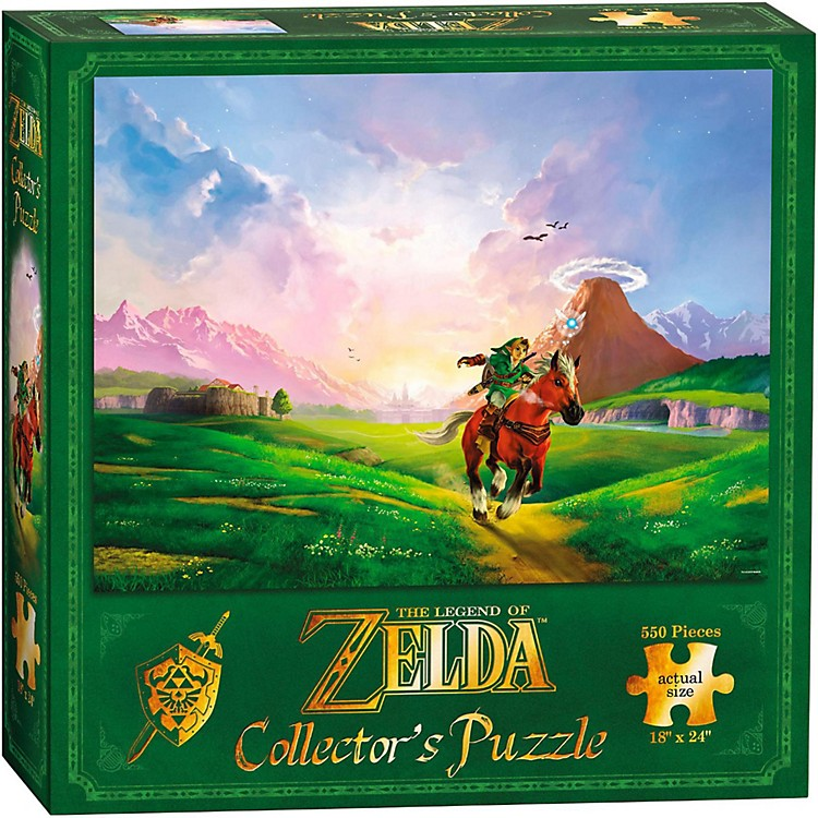 USAOPOLY The Legend of Zelda Links Ride Puzzle