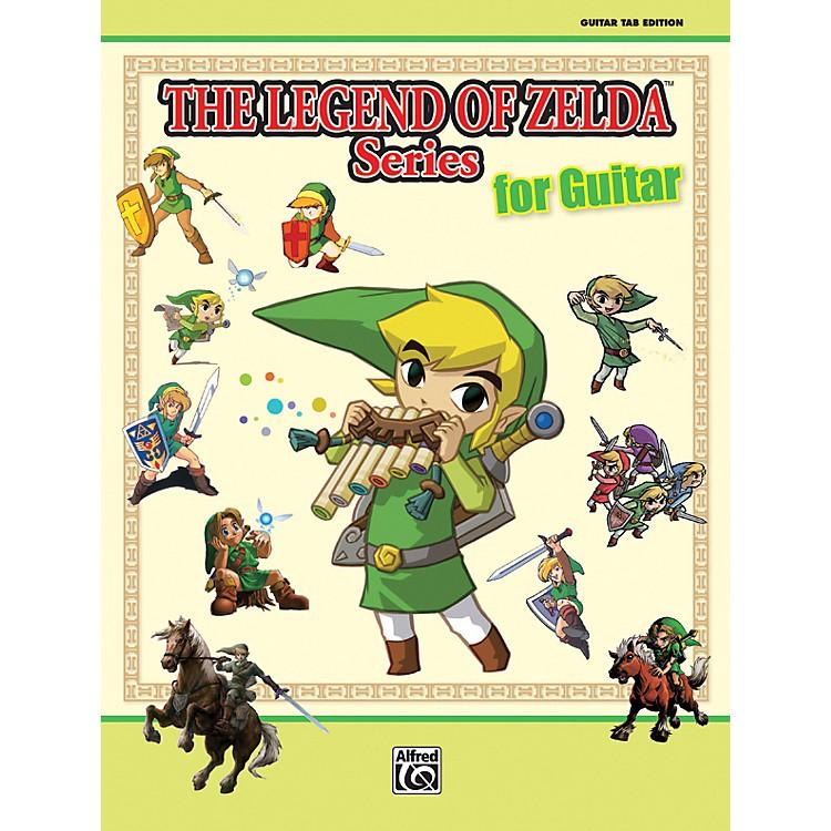 AlfredThe Legend of Zelda Series for Guitar Book