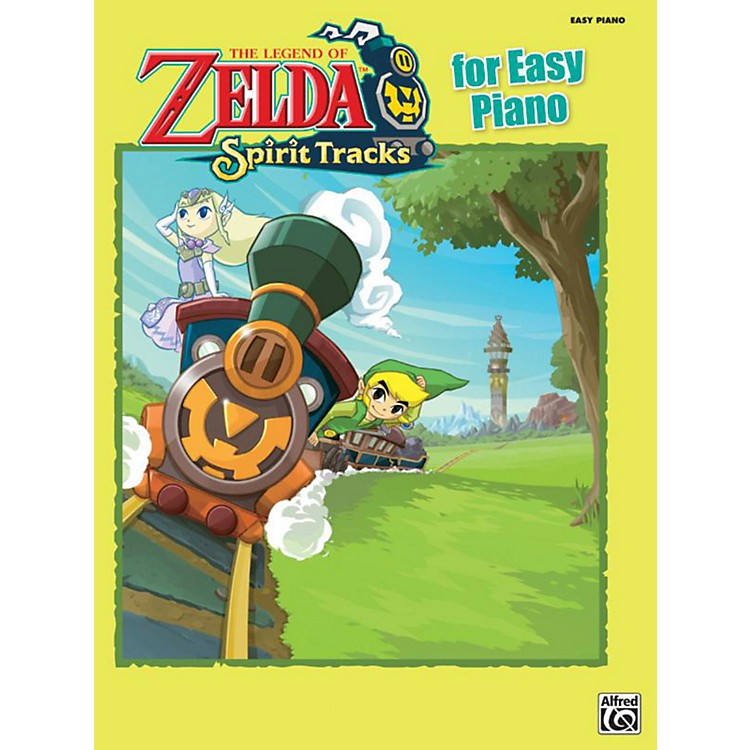 Alfred The Legend of Zelda Spirit Tracks for Easy Piano Book