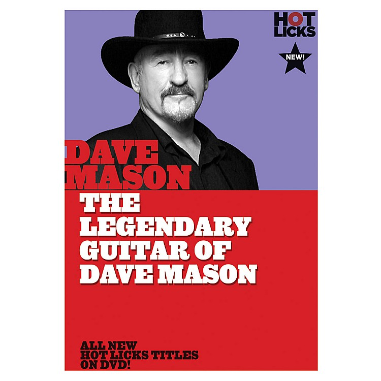 Music Sales The Legendary Guitar of Dave Mason Music Sales America Series DVD Performed by Dave Mason