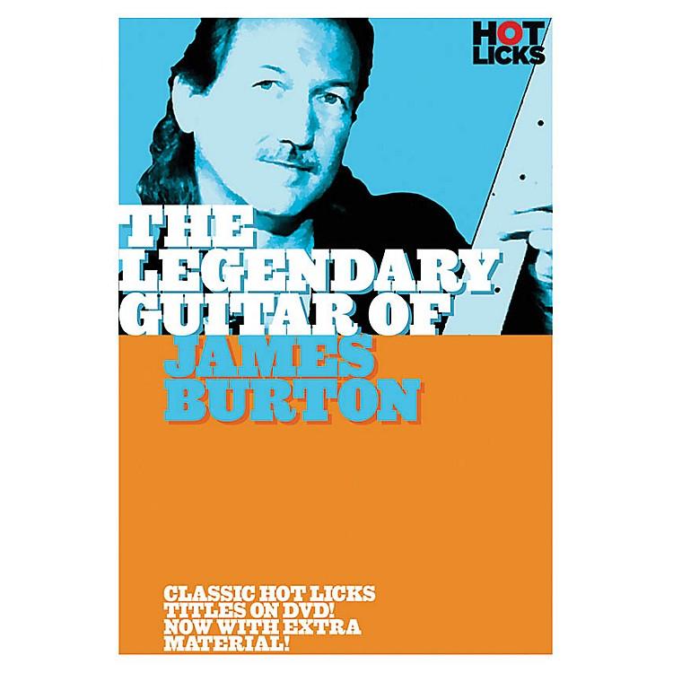 Music SalesThe Legendary Guitar of James Burton Music Sales America Series DVD Performed by James Burton