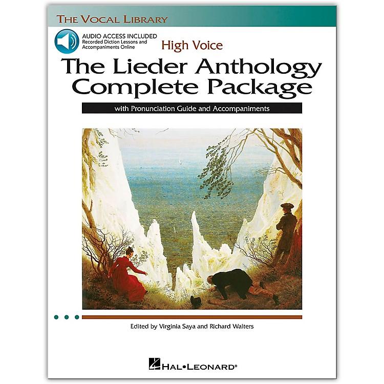 Hal LeonardThe Lieder Anthology Complete Package for High Voice Book/Pronunciation Guide/5 CDs