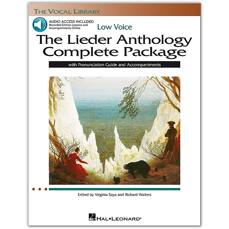 Hal Leonard The Lieder Anthology Complete Package for Low Voice Book/Online Audio