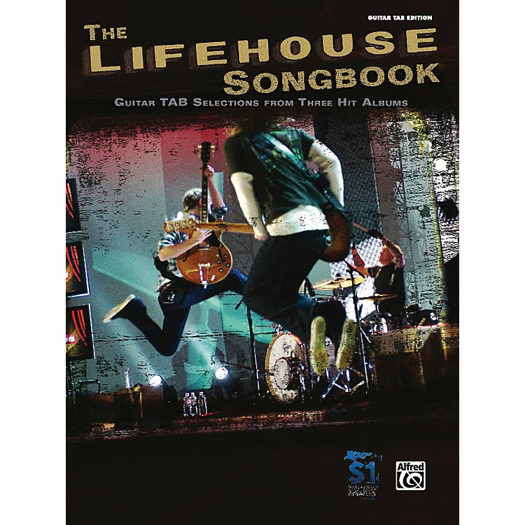 AlfredThe Lifehouse Songbook - Guitar Tab Edition