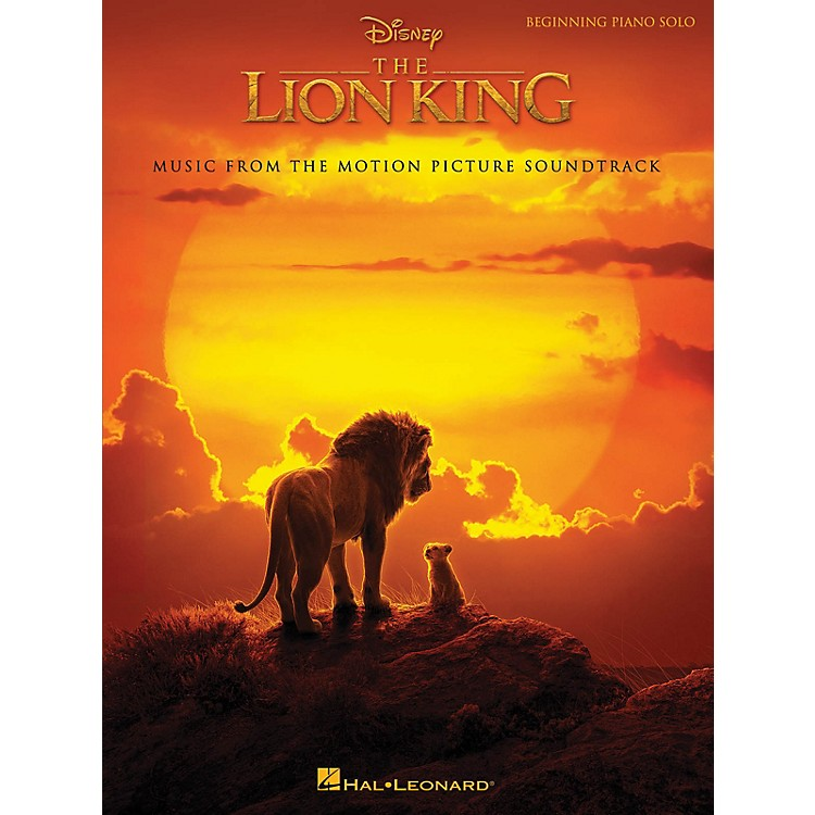Hal LeonardThe Lion King (Music from the Disney Motion Picture Soundtrack) Beginning Piano Solo Songbook