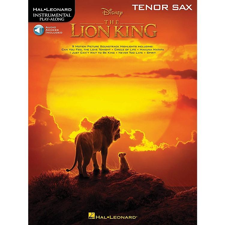 Hal LeonardThe Lion King for Tenor Sax Instrumental Play-Along Book/Audio Online