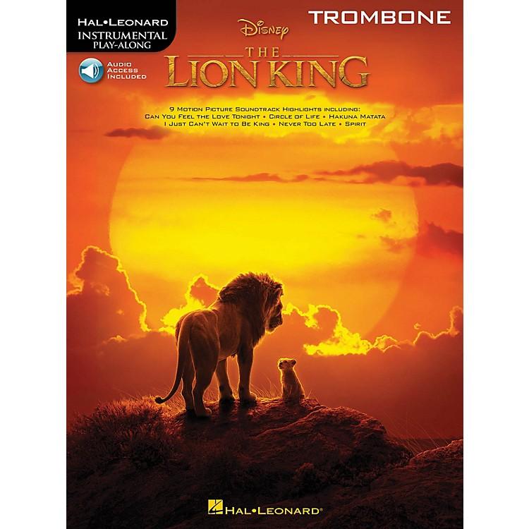 Hal LeonardThe Lion King for Trombone Instrumental Play-Along Book/Audio Online