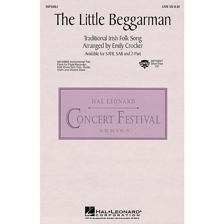 Hal LeonardThe Little Beggarman 2-Part Arranged by Emily Crocker