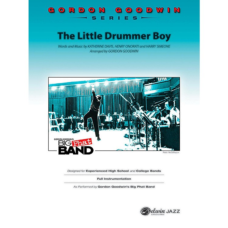 BELWIN The Little Drummer Boy Jazz Ensemble Grade 6 (Professional / Very Advanced)