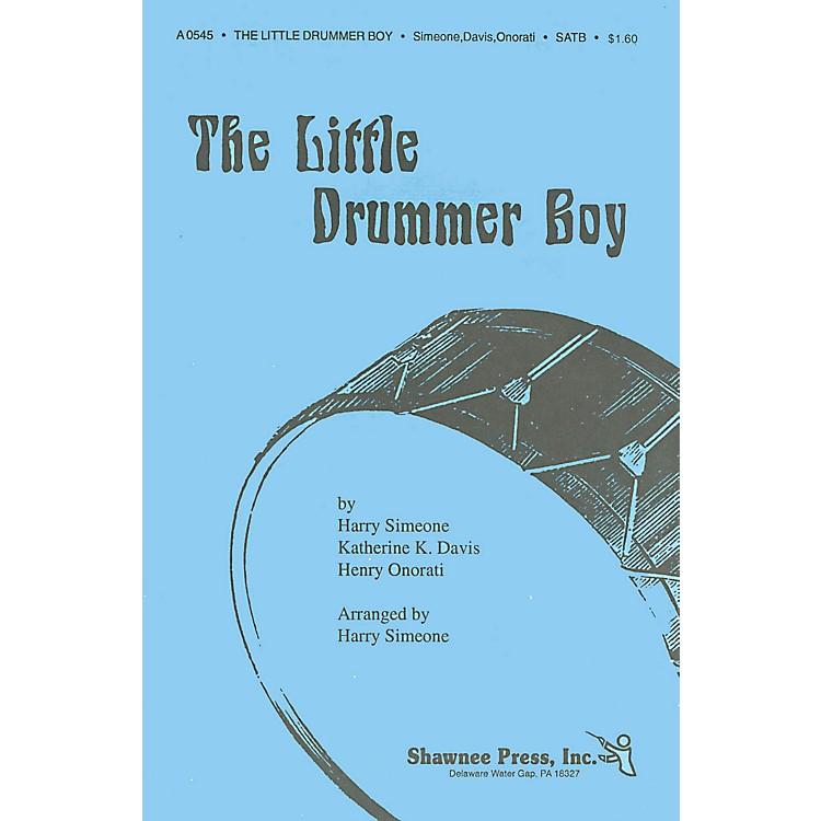 Shawnee PressThe Little Drummer Boy SAB Arranged by Harry Simeone