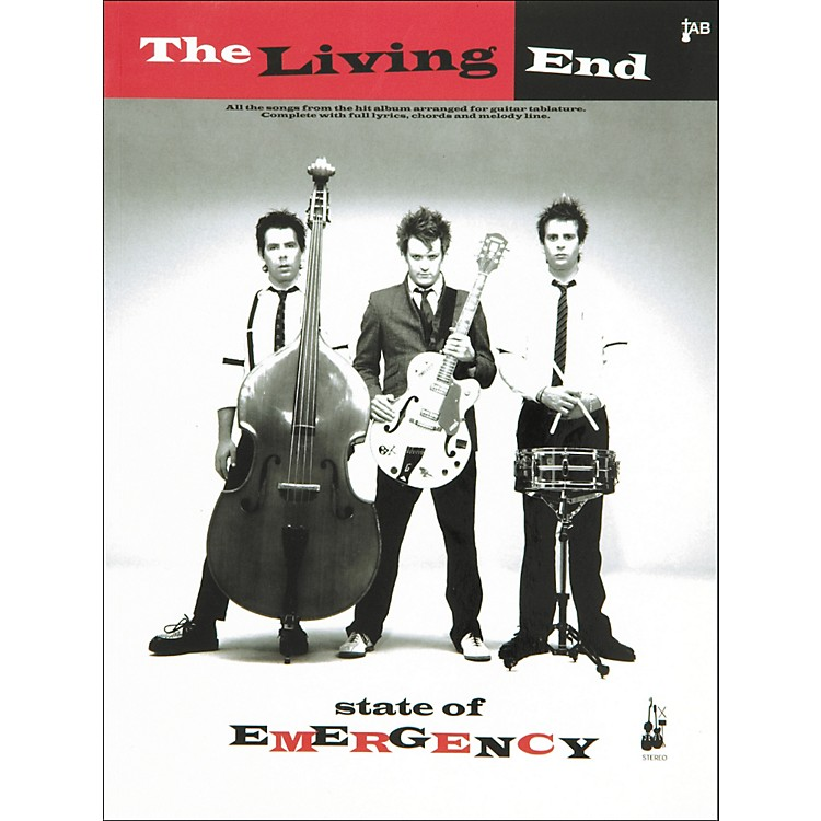 Music SalesThe Living End State Of Emergency Guitar Tab Songbook
