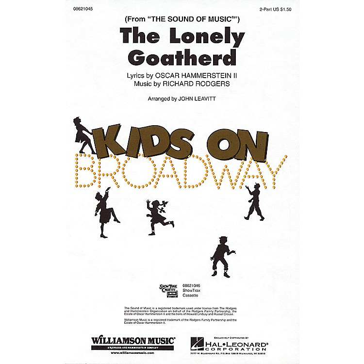 Hal LeonardThe Lonely Goatherd (from The Sound of Music) 2-Part arranged by John Leavitt