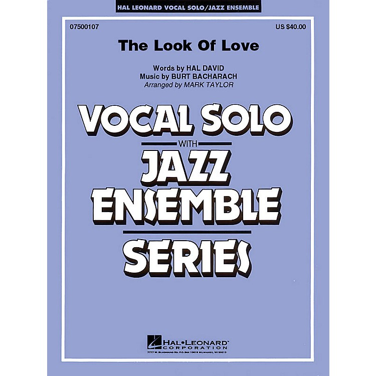 Hal Leonard The Look of Love (Key: Cmi) (Key: Cmi) Jazz Band Level 3 Composed by Burt Bacharach